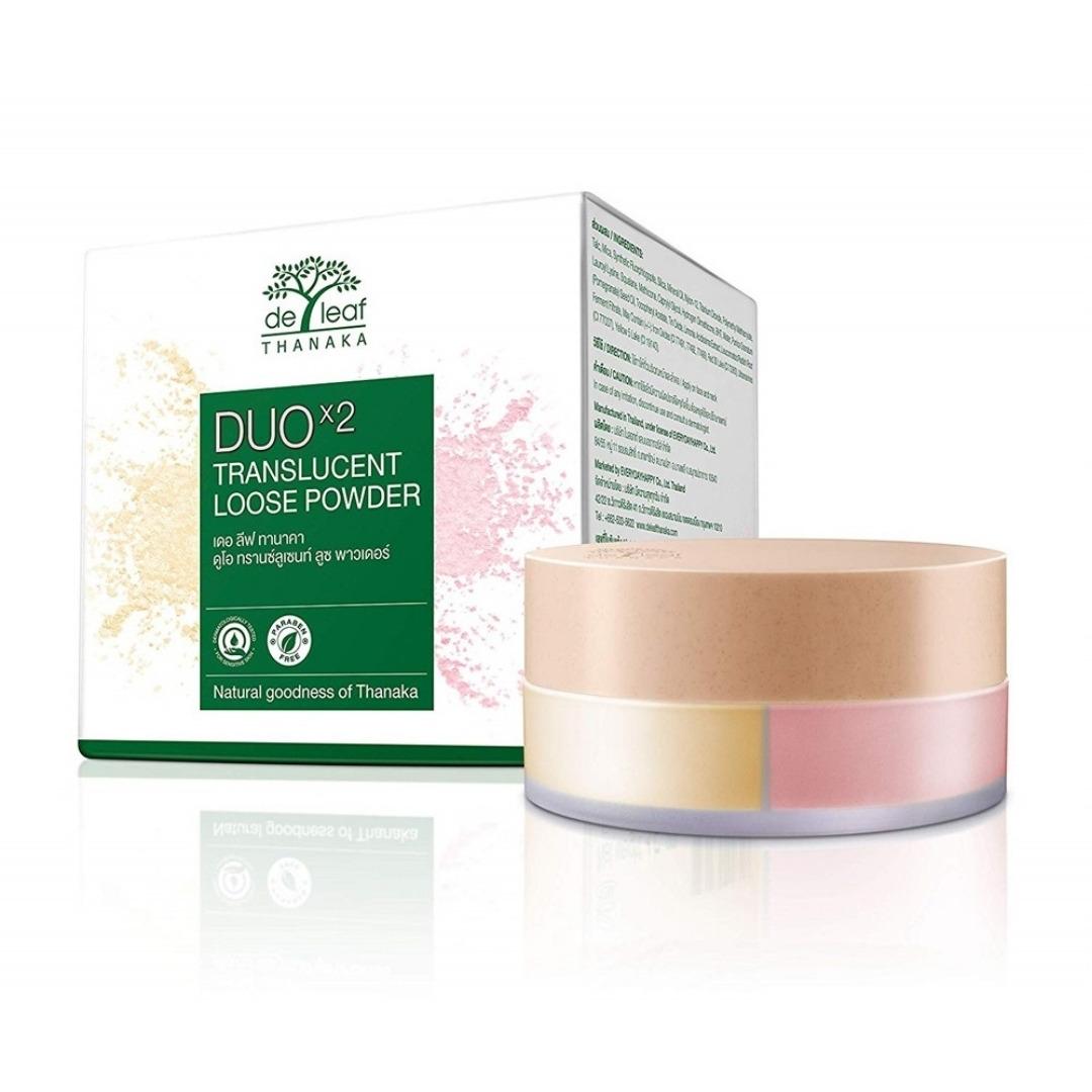 Polvo Translucido duo de thanaka make up rubor base maquillaje